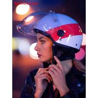 【预售】小牛电动四季通用头盔电动车摩托车头盔男女安全帽