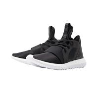 【网易考拉】adidas 阿迪达斯 Tubular Defiant小椰子系列女款板鞋情侣款 黑色