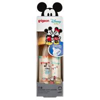 【当当自营】Pigeon 贝亲 Disney自然实感宽口径PPSU彩绘奶瓶240ml配M奶嘴(米奇米妮-派对)AA162