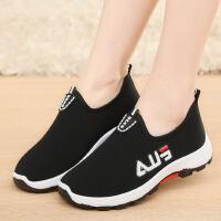 老北京布鞋女单鞋轻便时尚款防滑软底中老年健步鞋休闲运动老人鞋
