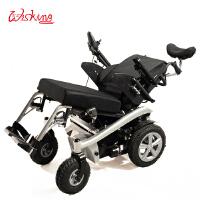 Wisking 威之群 1023-36新款老年电动轮椅 带灯带后仰后躺功能 独特设计 回头率十足