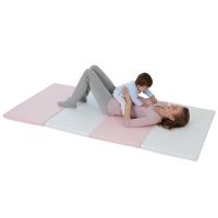 宝宝爬行垫折叠4cm儿童游戏地垫客厅婴儿学步爬爬垫