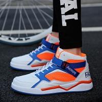 CUM 潮牌男士系带板鞋透气高帮运动鞋学生潮鞋男鞋时尚加高运动鞋篮球鞋
