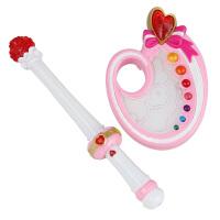 女孩玩具巴拉巴拉小魔仙的吸色魔法手镯绚丽调色盘套装