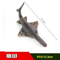 仿真动物模型虎鲸大白鲨鱼玩具海龟海豚鲸鱼儿童玩具男孩SN9615