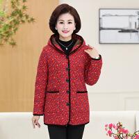 中老年女装新款秋冬装棉衣妈妈装加厚冬季老年人加绒棉袄外套