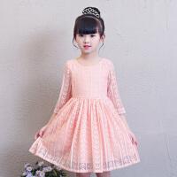 女童连衣裙夏装新款儿童公主裙春秋童装女童洋气裙子韩版