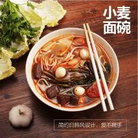 依蔓特日式面碗 麦子纤维超大拉面碗 高脚吃面碗 汤碗 汤面碗