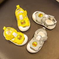 宝宝学步凉鞋男童1-3岁婴幼儿2学步鞋软底防滑新款女童宝宝鞋