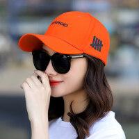 帽子女韩版潮流鸭舌帽休闲百搭棒球帽旅游休闲防晒遮阳帽