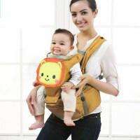 卡通宝宝腰凳小孩婴儿背带前抱式透气多功能儿童四季通用抱带单凳e5h
