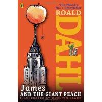 詹姆斯与大仙桃(罗尔德达尔小说,美国版) 英文原版 James and the Giant Peach