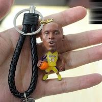 nba篮球公仔科比詹姆斯手办人偶模型摆件球迷周边礼物送男生 仿铜 科比 仿真 科比