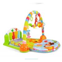 婴幼儿玩具 多功能脚踏钢琴健身架玩具地毯宝宝儿童早教益智礼盒装生日礼物 BY698-51
