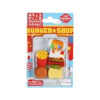 IWAKO ER-961099 岩泽趣味橡皮 儿童卡通可爱橡皮创意文具 .汉堡套餐当当自营