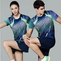 20180904181623398羽毛球服yy短袖套装 男女运动短裤裙透气网球服 乒乓球情侣衣新品