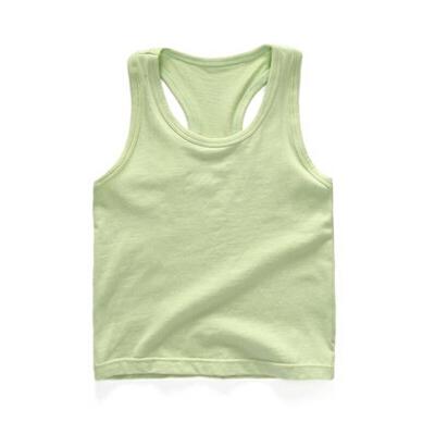 儿童背心夏季薄款打底衫宝宝夏装童装女童男童工字无袖上衣