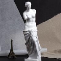 维纳斯人物树脂石膏像29人体石膏全身像绘画素描石膏像几何体雕塑模型居家装饰品画室用品美术教具