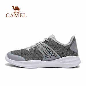 camel骆驼运动时尚休闲鞋 男休闲轻便减震轻便运动鞋