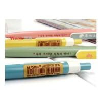 晨光文具 晨光ABP20115小清新木の语书签按动式圆珠笔 0.5mm蓝色