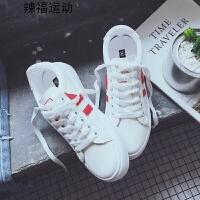 小白鞋夏季女新款厚底板鞋百搭韩版跑步休闲鞋学生运动鞋