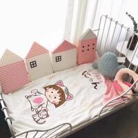 儿童床床围北欧儿童床软包防撞保护垫宝宝床靠垫儿童床围栏护边棉 其它