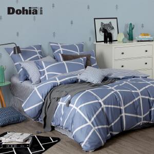 多喜爱家纺套件cosmo床上用品舒适全棉四件套床单被套赫尔辛格