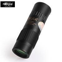 金属袖珍单筒望远镜 高倍微光夜视非红外军望眼镜