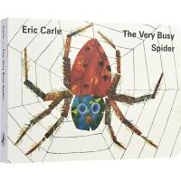 【首页抢券300-100】The Very Busy Spider 忙碌的小蜘蛛纸板书 Eric Carl 艾瑞・卡尔