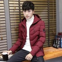2017新款冬季外套男士棉衣冬装韩版潮流修身帅气青少年棉袄子