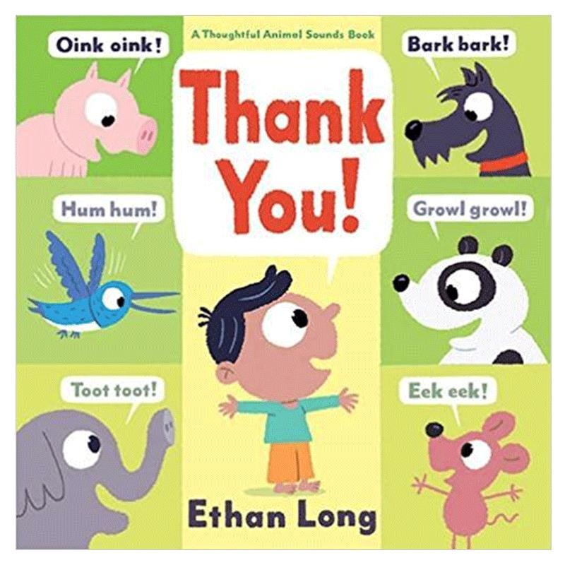 Thank You!谢谢你!英文儿童绘本 启蒙认知早教读物 善本图书 汇聚全球出版物,让阅读改变生活,给你无限知识