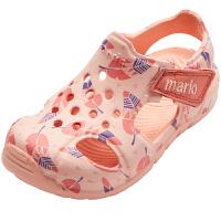 女童凉鞋宝宝1-3岁男童中大童软底小童公主鞋小孩包头儿童