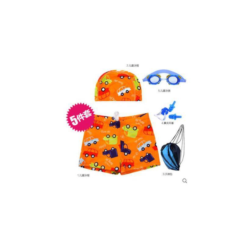 儿童泳衣男童泳裤时尚卡通平角婴儿泳裤宝宝泳衣男童分体泳裤 品质保证 售后无忧
