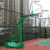 移动篮球架 标准篮球架 户外比赛篮球架 不拼价格只求质量 绿色
