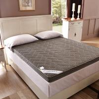 夏季折叠竹炭榻榻米床垫褥子1.5m1.8米双人单人0.9米学生宿舍垫被