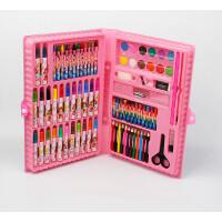 86色小学生儿童画笔水彩笔绘画手提式工具礼盒套装文具