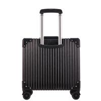 铝框拉杆箱万向轮铝合金行李箱18寸商务托运登机箱 18寸