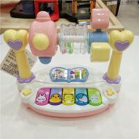 儿童玩具 多功能卡通电子琴音乐玩具宝宝儿童早教益智礼盒装生日礼物 颜色随机(六个一盒,不单售)