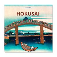 现货 艺术家专著 Hokusai 葛饰北斋 日本浮世绘大师 葛饰北斋艺术画集 艺术入门画册 英文原版