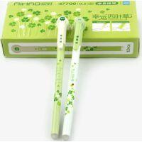 爱好47700摩易擦中性笔 0.5mm四叶草可擦笔