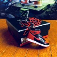AJ钥匙扣乔丹3D立体篮球鞋模包包挂件手工汽车钥匙链情侣创意礼物 AJ1樱木花道