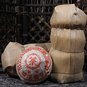 1998年 中茶 甲级沱茶叶 普洱茶熟茶 250克/沱 5沱