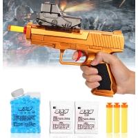 玩具枪儿童软弹枪*可发射吸水晶弹吸盘软弹男孩玩具
