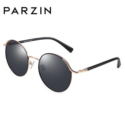 帕森2018新品时尚复古圆框女偏光镜潮人墨镜女司机驾驶镜9922