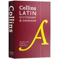 柯林斯拉丁语词典及语法 英文原版 Collins Latin Dictionary and Grammar 英文版正版进