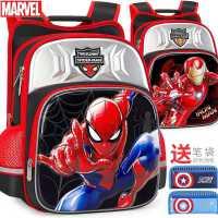 迪士尼书包小学生男童1-3-4三年级美国队长蜘蛛侠男孩儿童双肩包6