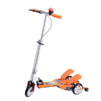 儿童户外休闲娱乐铝踏板减震折叠脚踏板轮双踏车脚踏冲浪助力多功能三轮滑板车 轮滑滑板