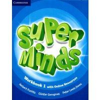 英音版剑桥小学英语教材 Super Minds Level 1 Workbook with Online Resources 1级 练习册带在线资源