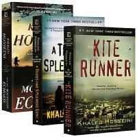英文原版小说 The Kite Runner追风筝的人 灿烂千阳 群山回唱 卡勒德胡赛尼3册 A Thousand Sp