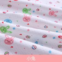 纯棉宝宝布料加厚针织夹棉布料A保暖棉衣包被布料卡通全棉婴儿布